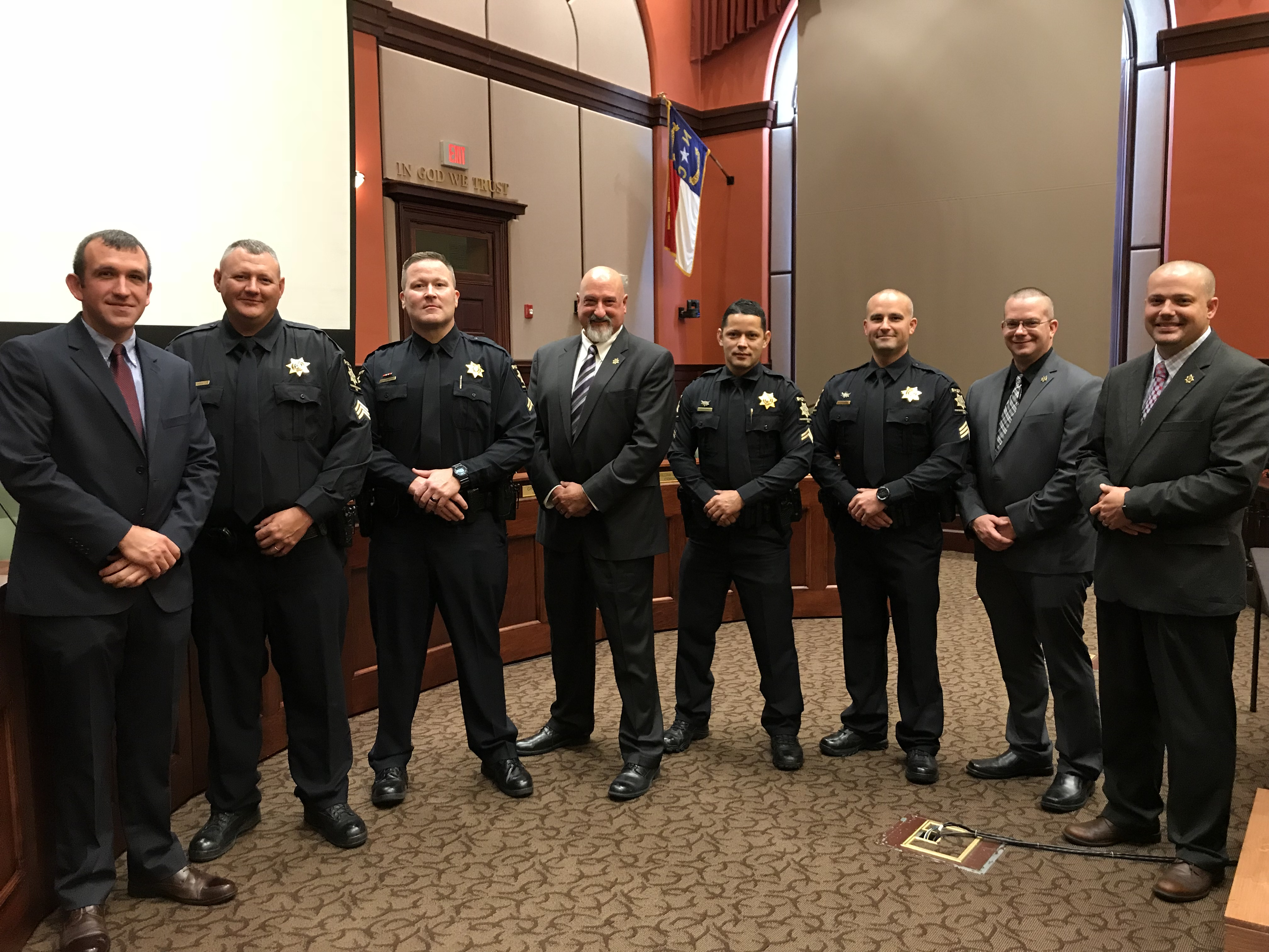 Deputies Recognized at Promotion Ceremony | Henderson County North